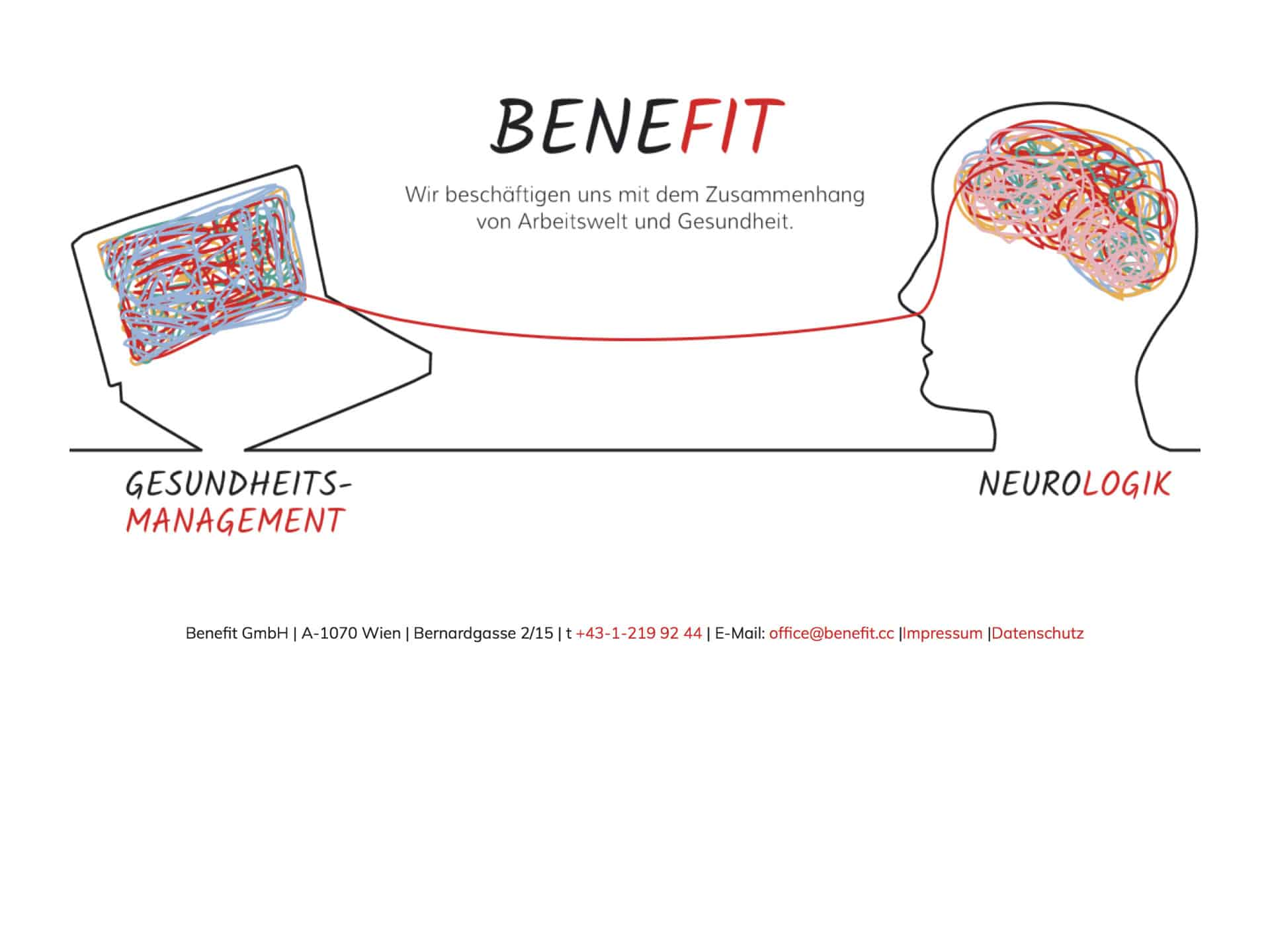 Neurologik & Benefit Webseite