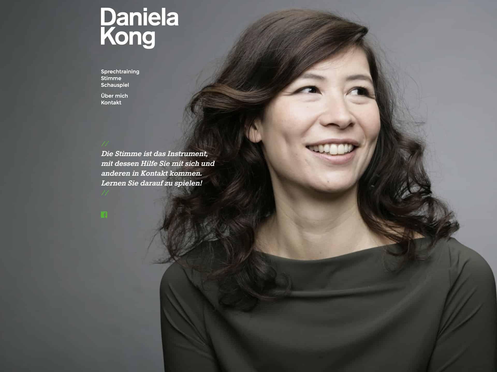 Daniela Kong Website