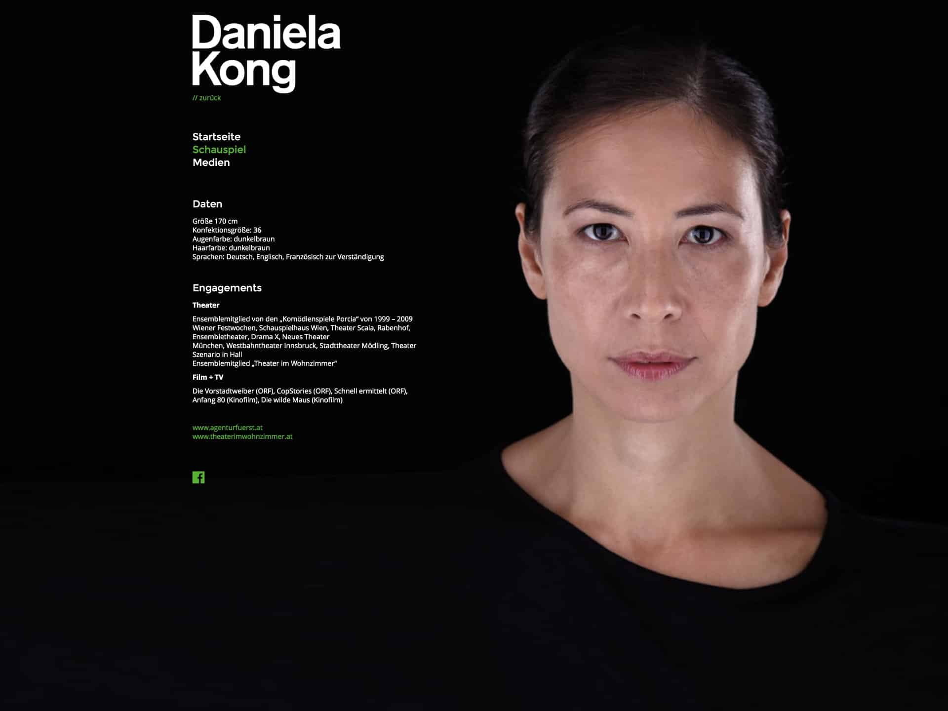 Daniela Kong Website