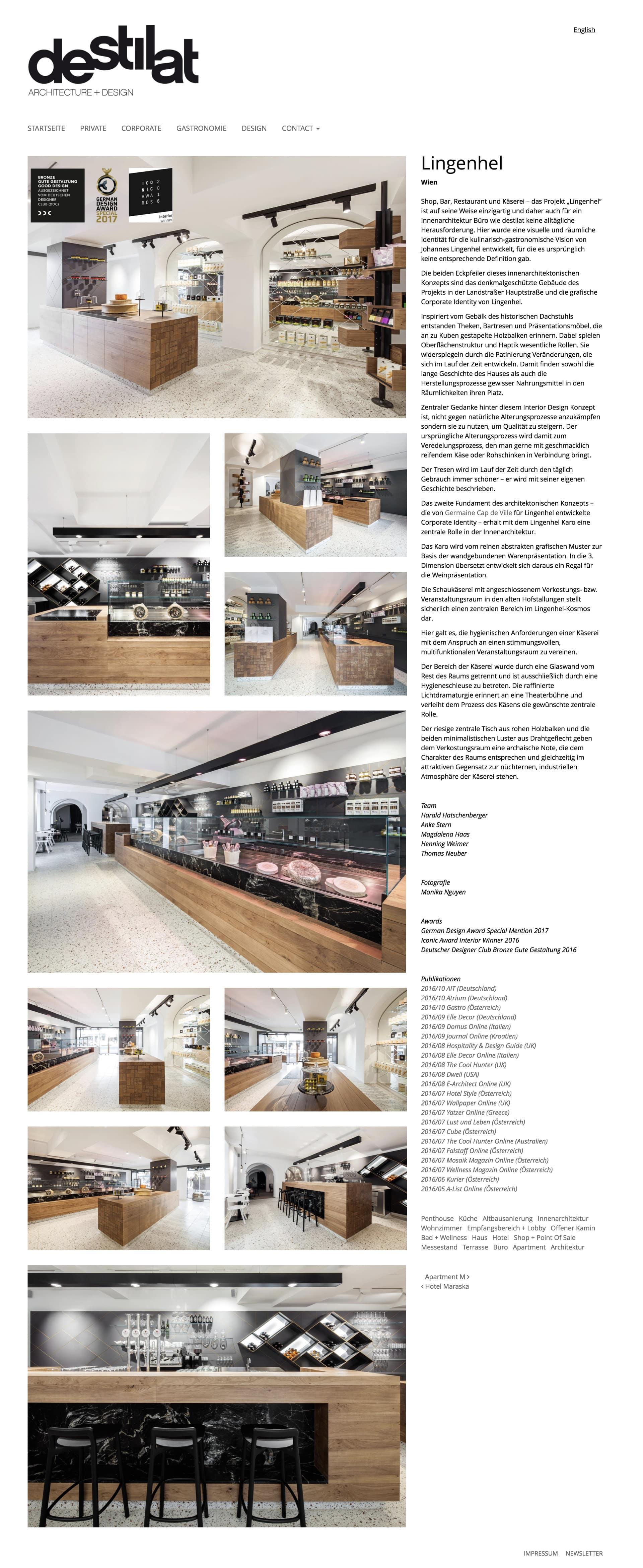 destilat Website