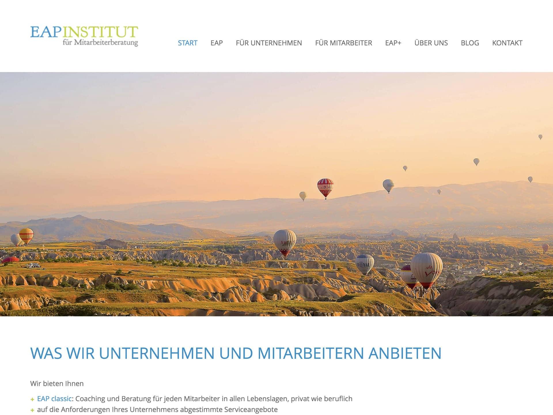 EAP Institut Österreich Website
