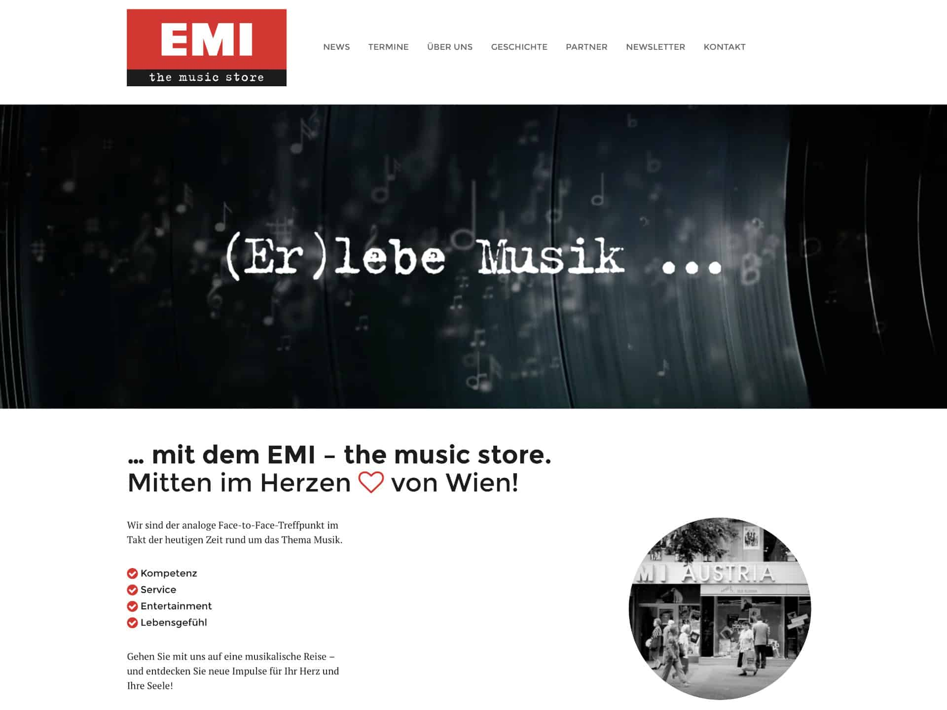 emi music store website