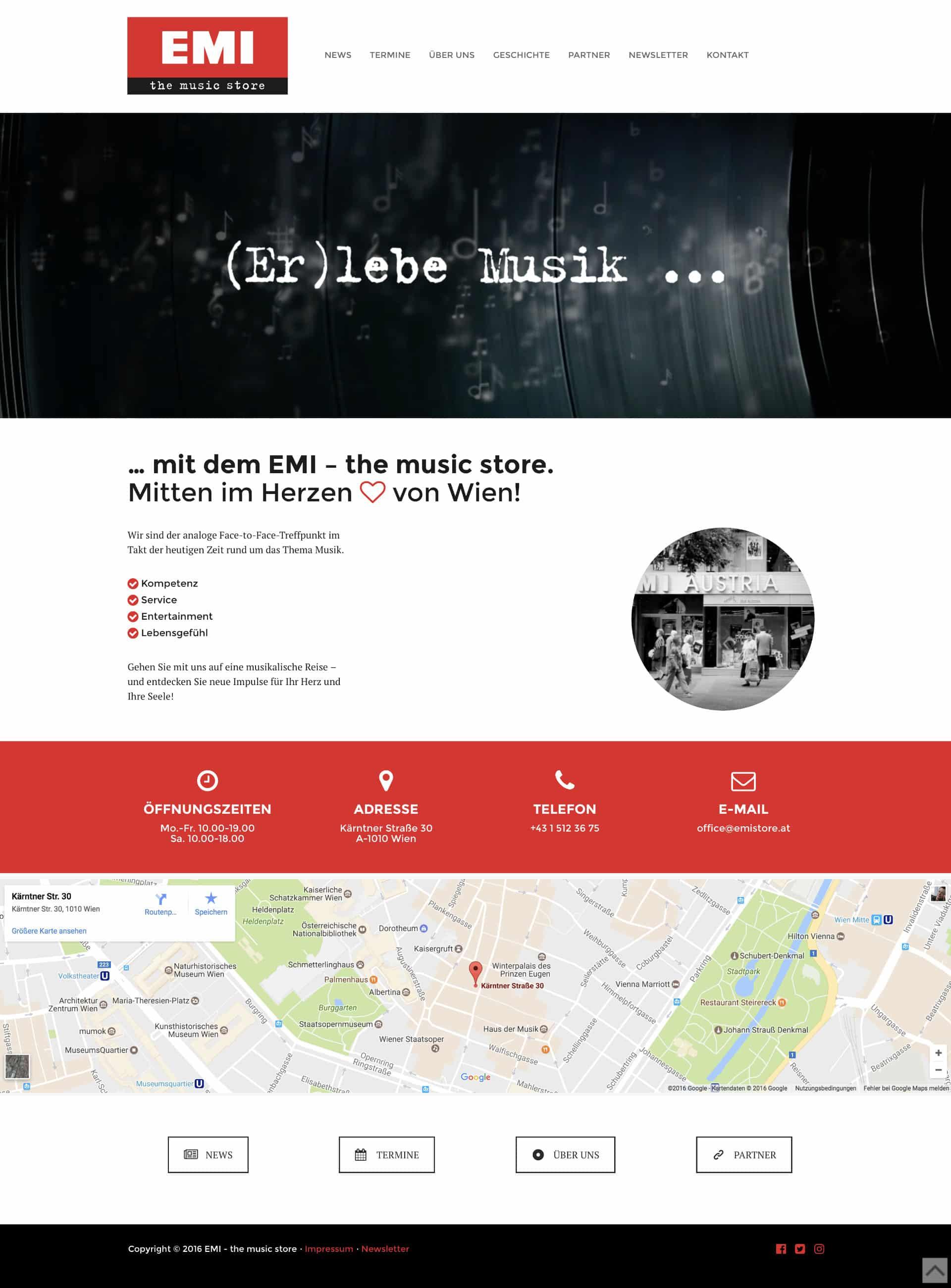emi music store website