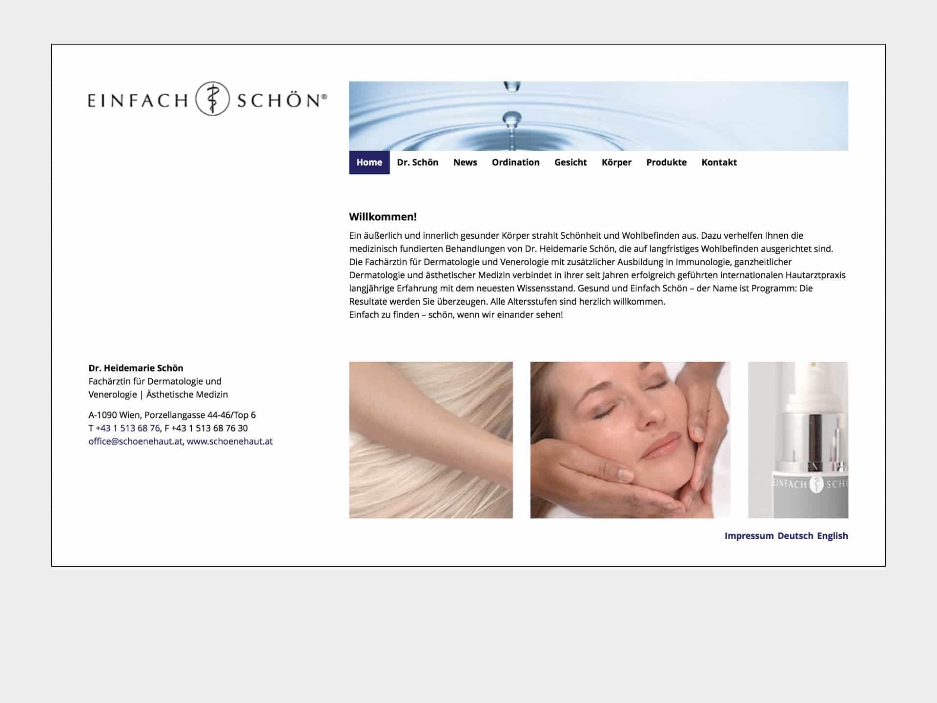 Dr. Heidemarie Schön Website