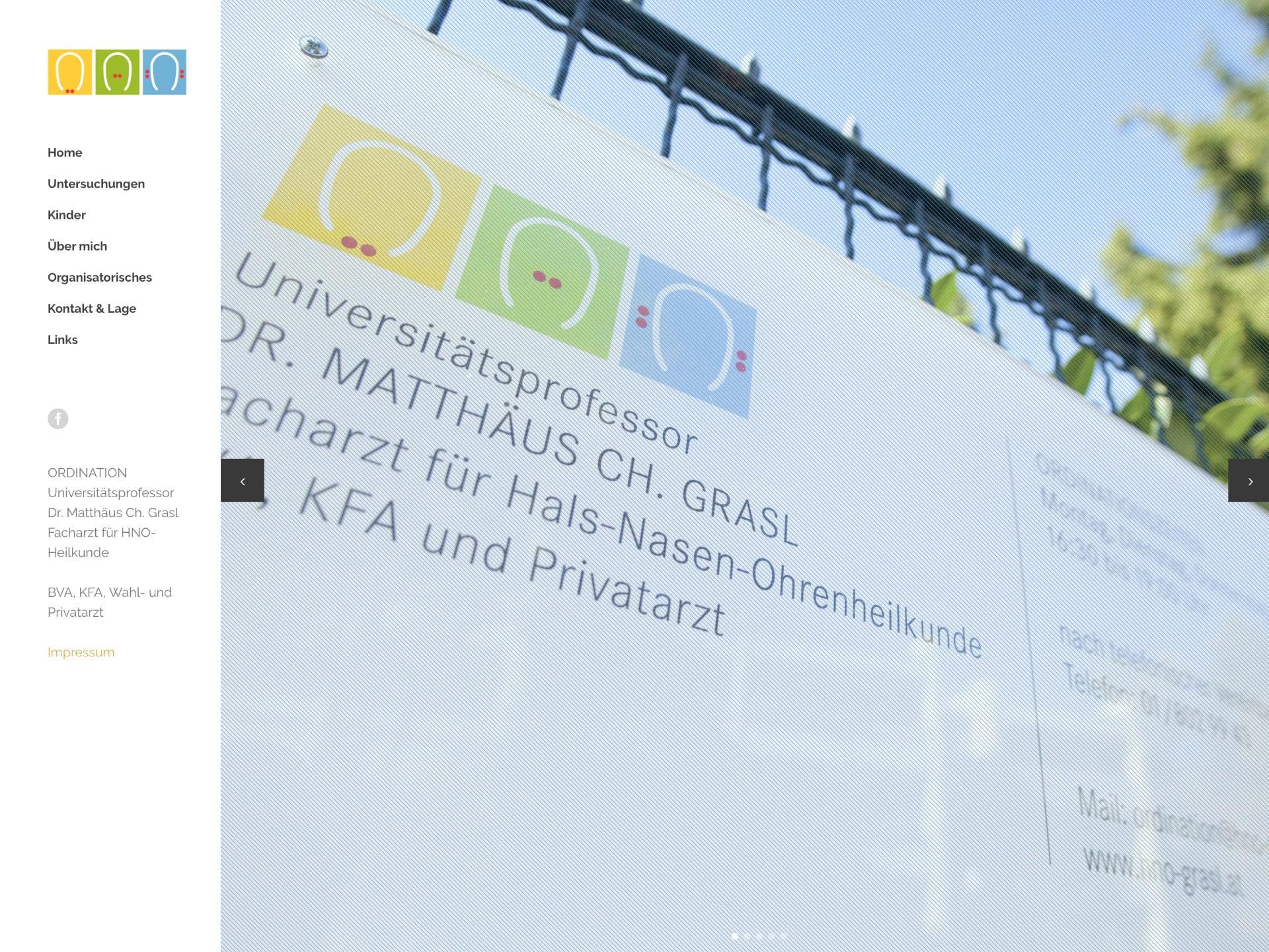 HNO Grasl Website