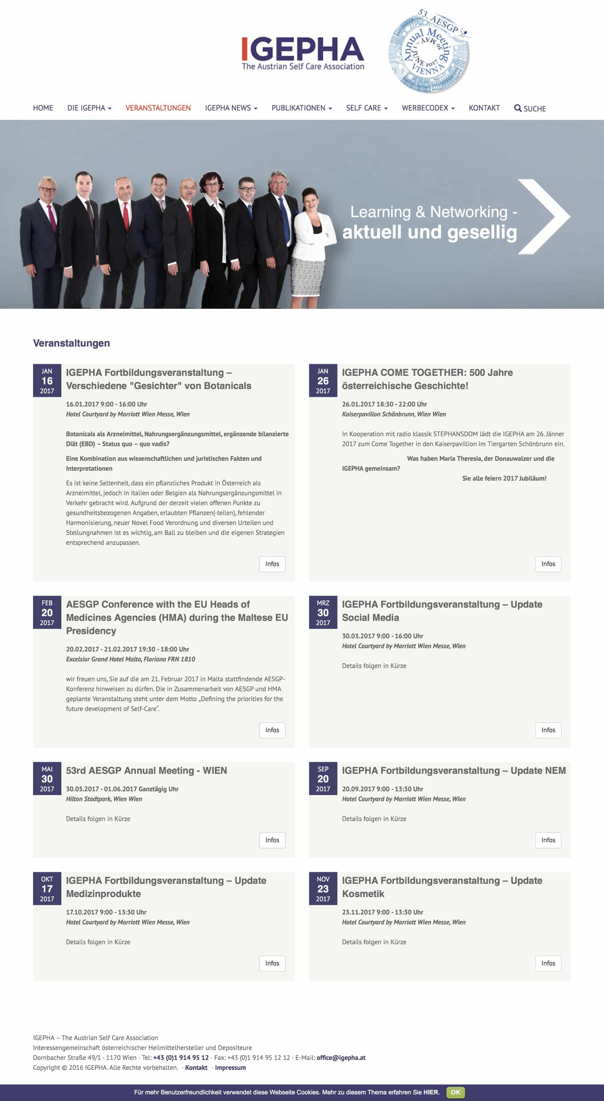 Igepha Website