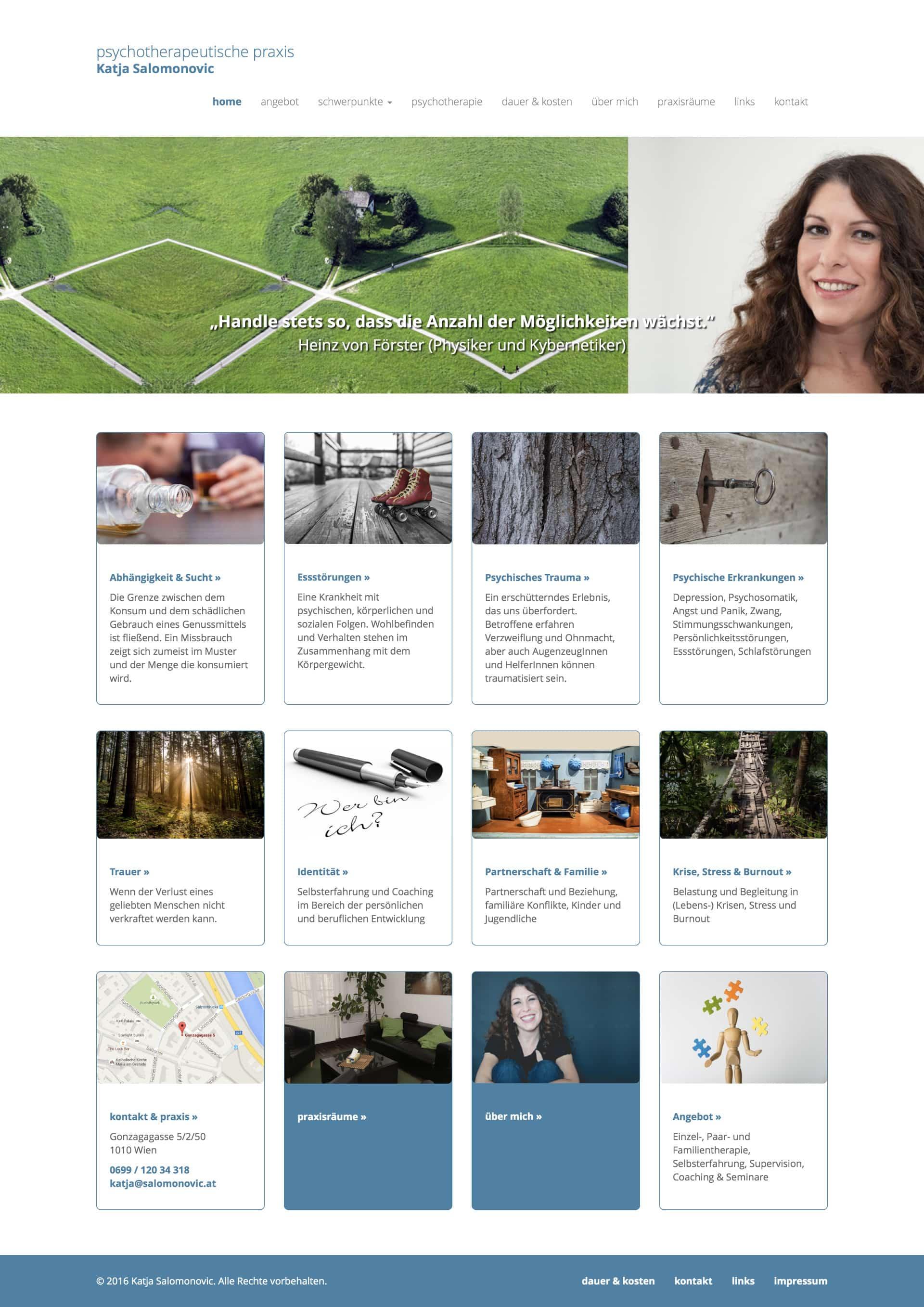 Katja Salomonovic Website