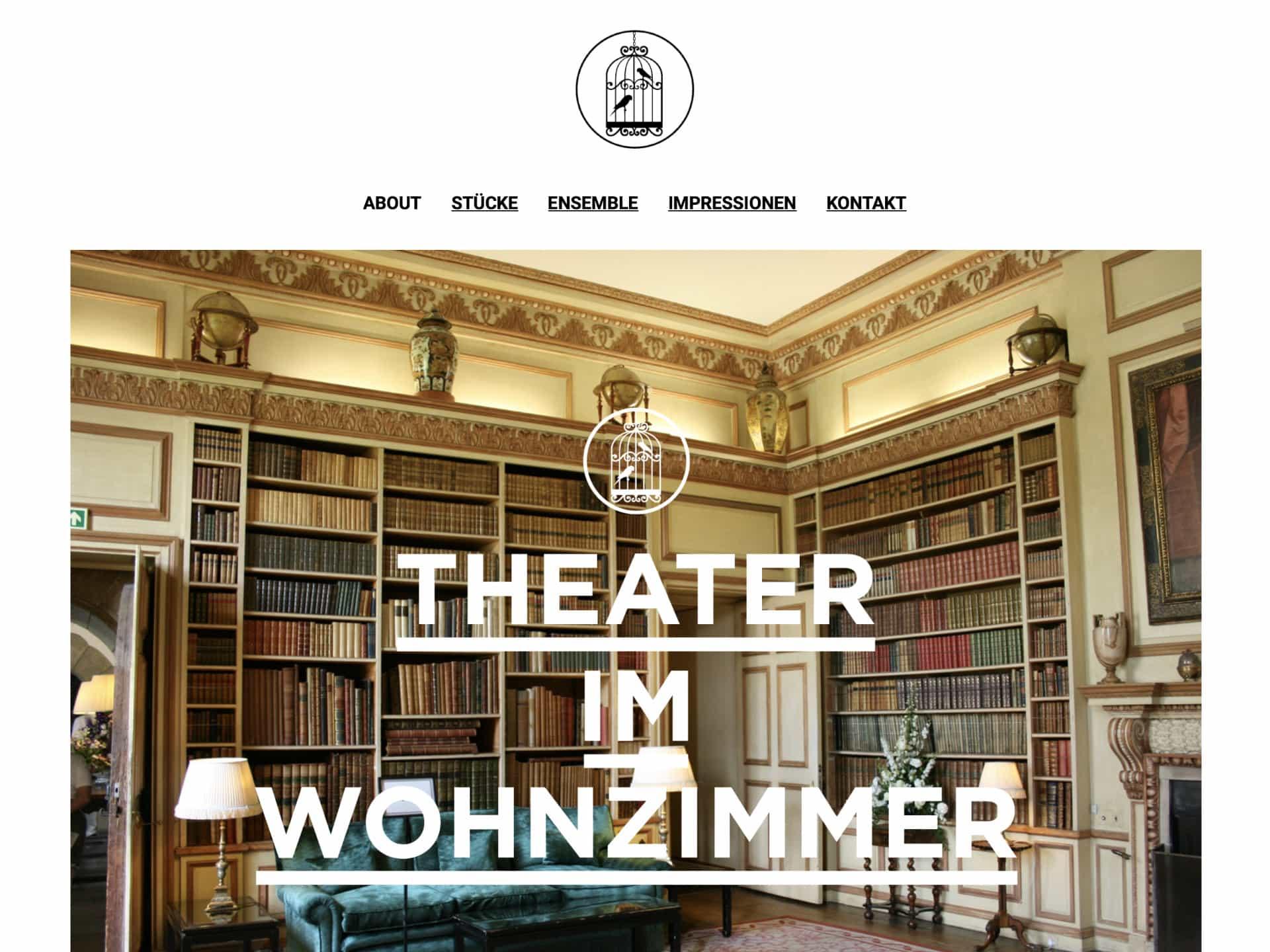 Theater im Wohnzimmer Webseite