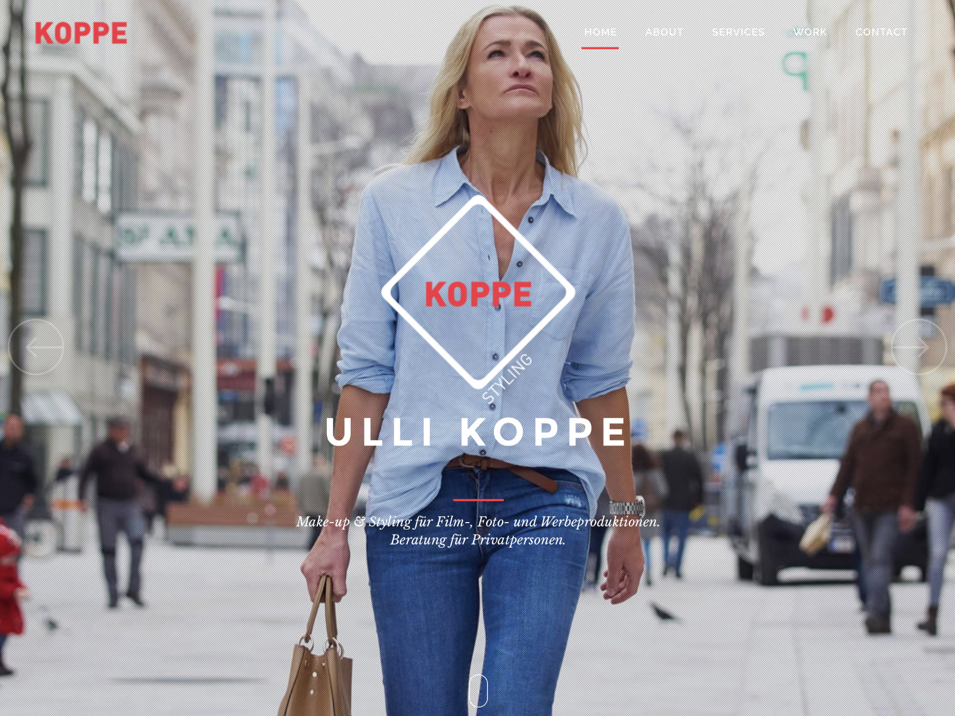 Ulli Koppe Styling Website