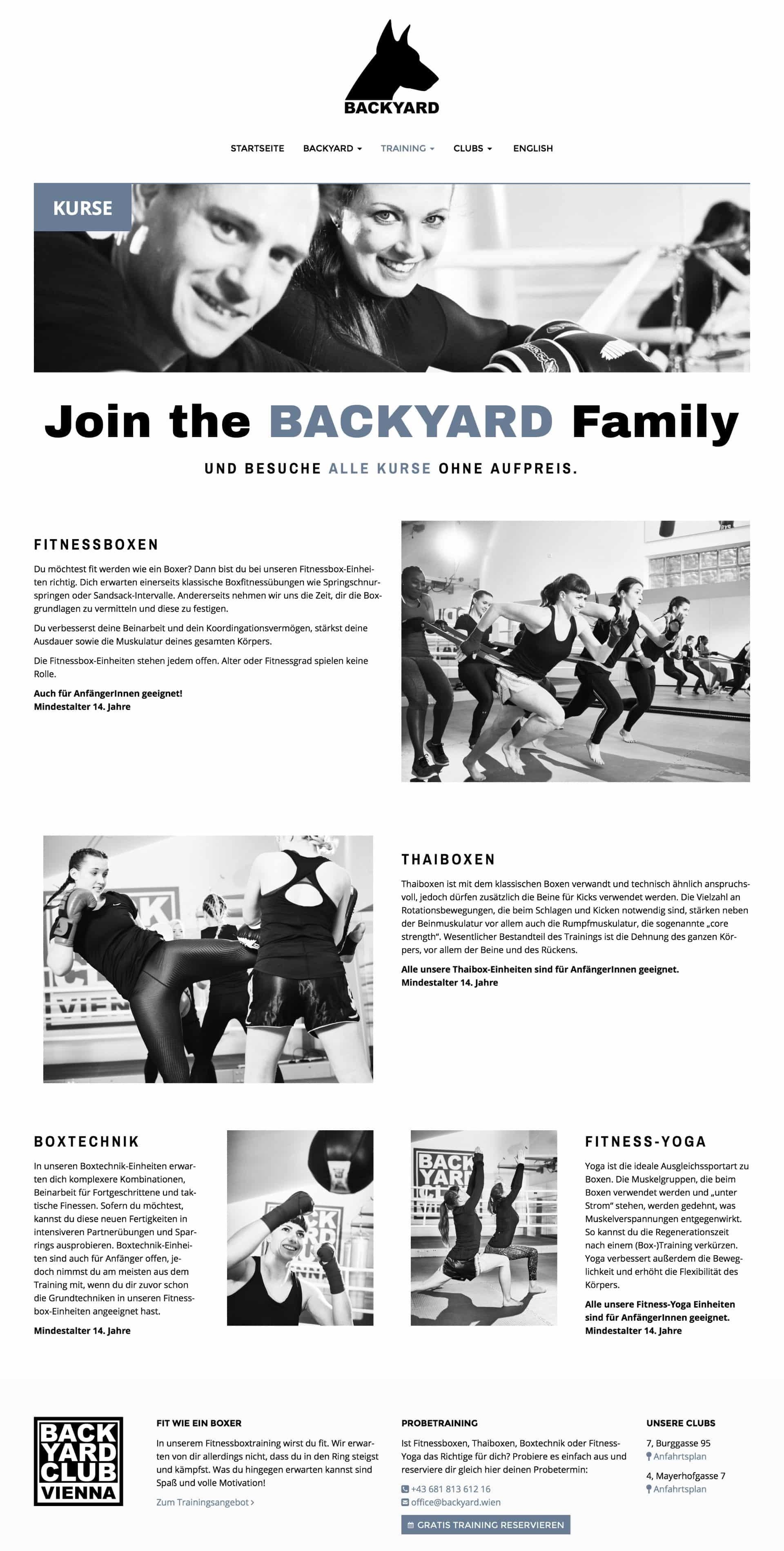 Backyard Boxing Club