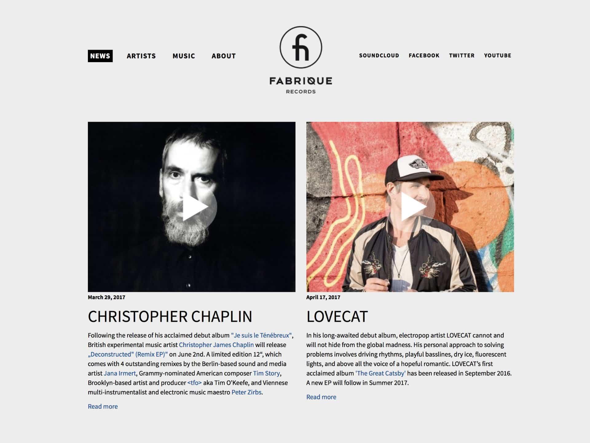Fabrique Records