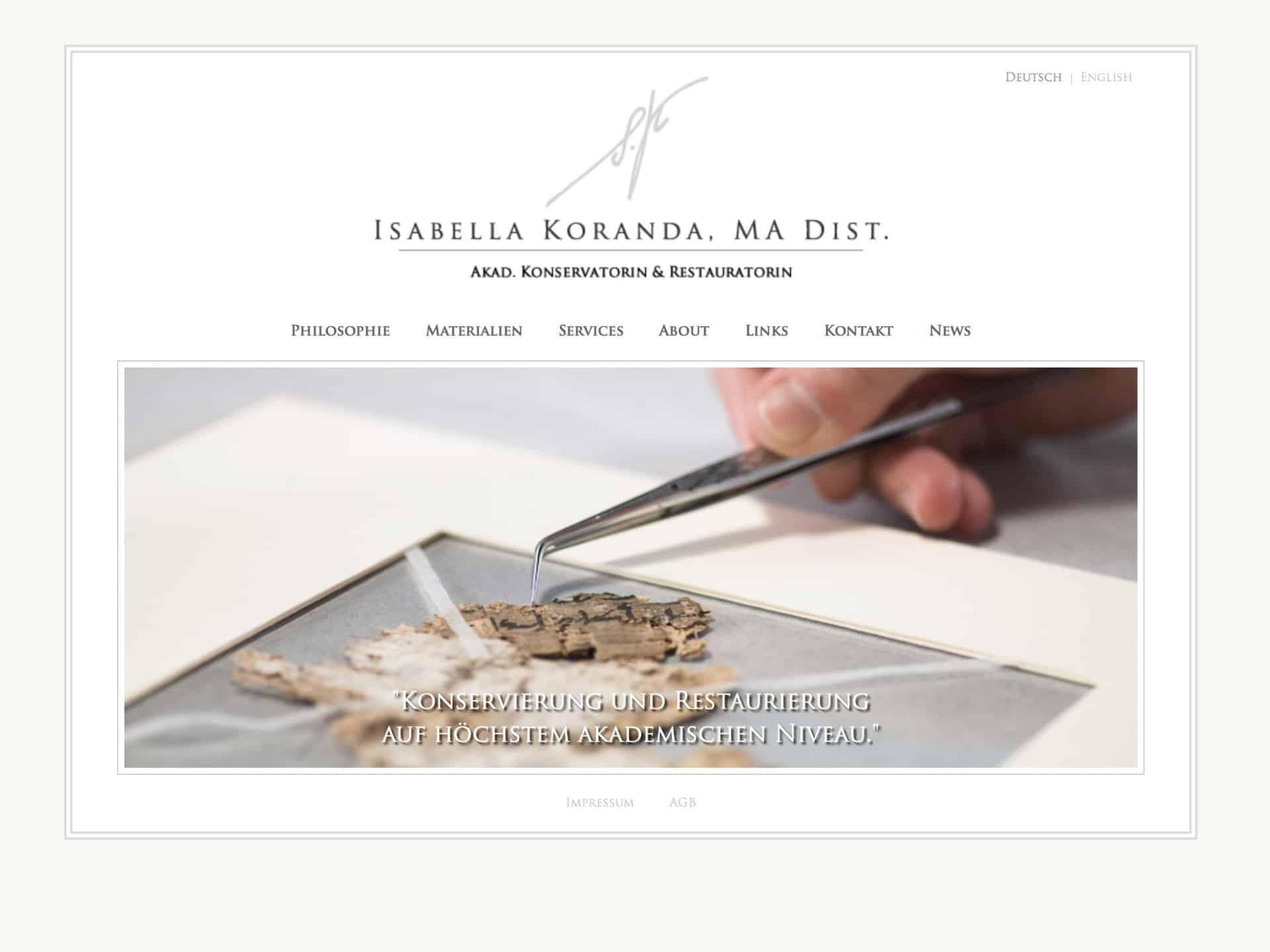 Isabella Koranda Conservation